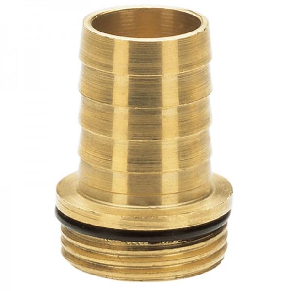 """Messing-Tüllen, 26,5 mm (G 3/4)-Gewinde / 19 mm(3/4"""")-Schläuche"""