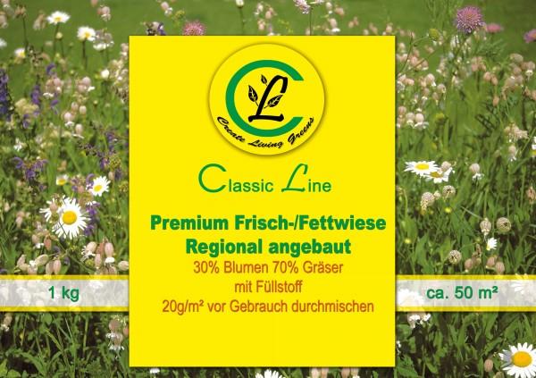 Premium Frisch-/Fettwiese regional angebaut