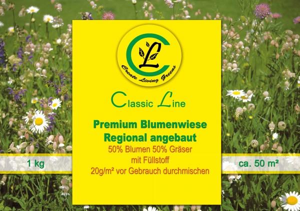Premium Blumenwiese Regional angebaut