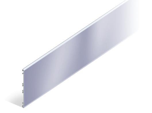 "FlexiLine blank ""einseitig gerillt"" aus Aluminium"