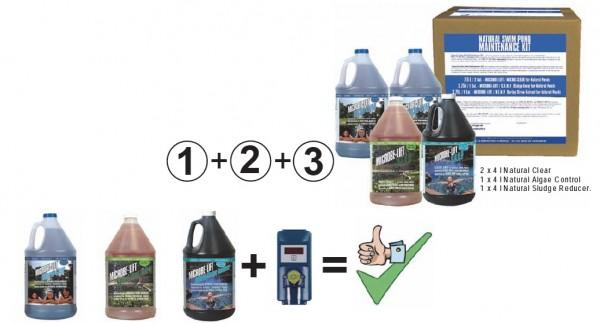Microbe Lift Natural maintenancekit for