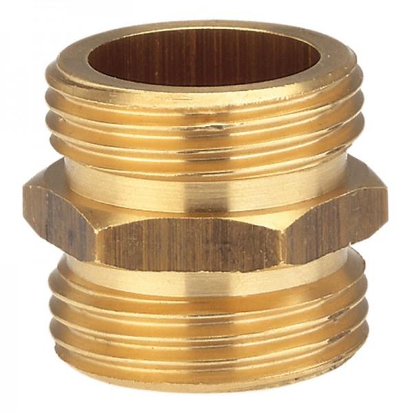 Messing-Gewindenippel, 26,5 mm (G 3/4)-Gewinde