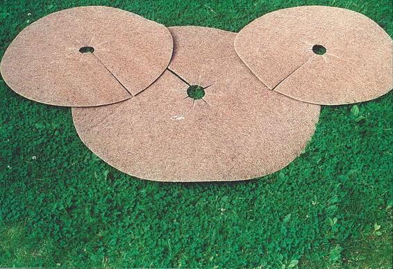 Kokosmulchscheiben Ø ca. 60 cm