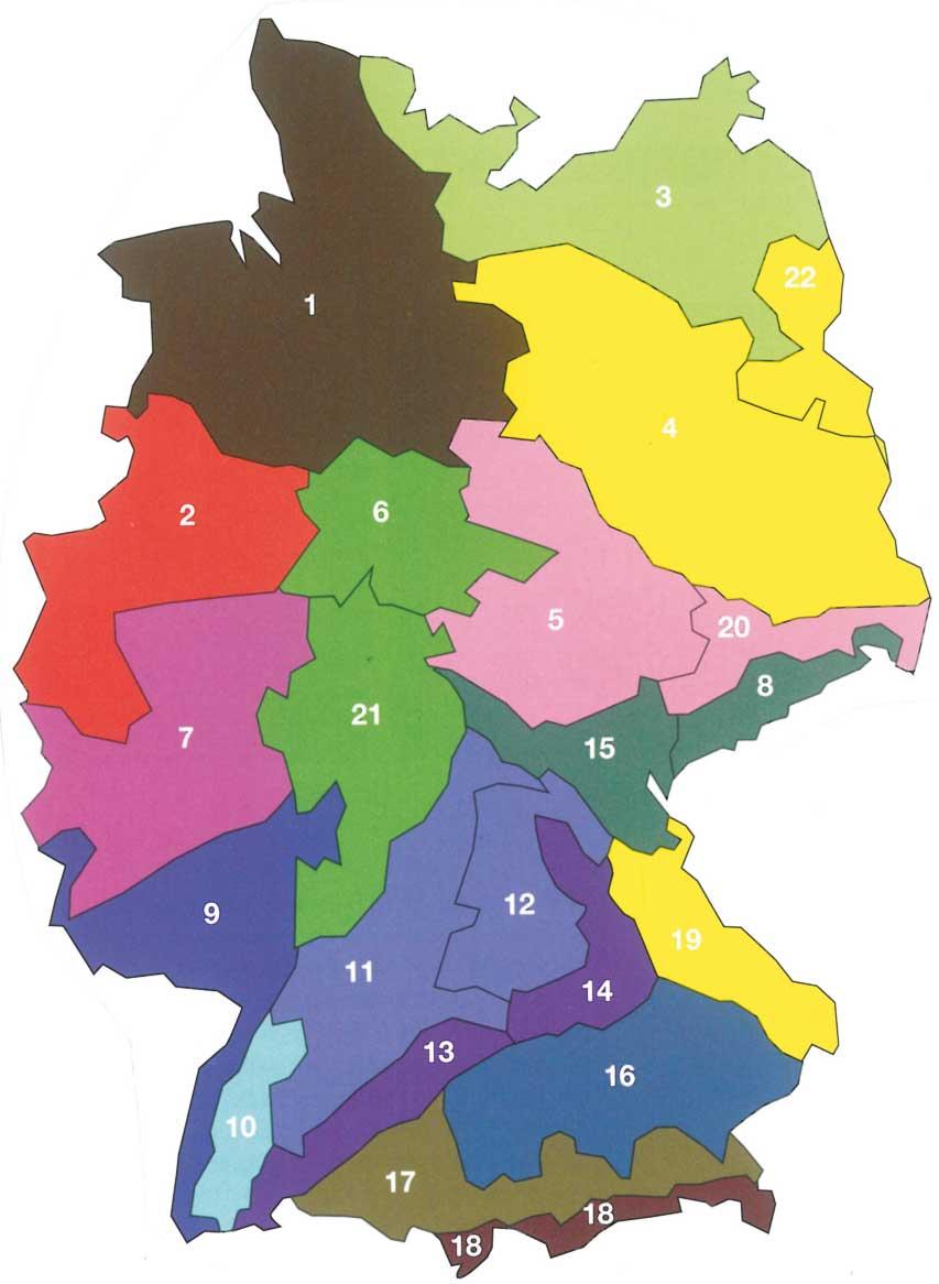 Regiosaatgutgebiete