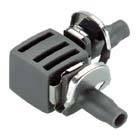 "Micro-Drip-System L-Stück, 4,6 mm (3/16"") - Inhalt: 10 Stück"