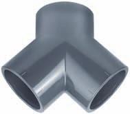 Y-Stück PVC-PE D50 mm
