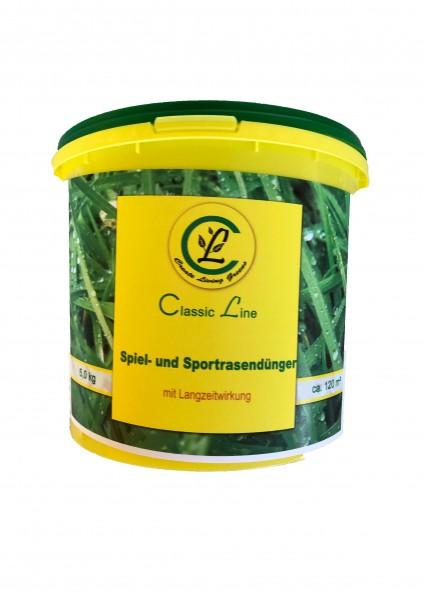 Spezial Spielrasen Sportrasen Rasendünger Langzeit