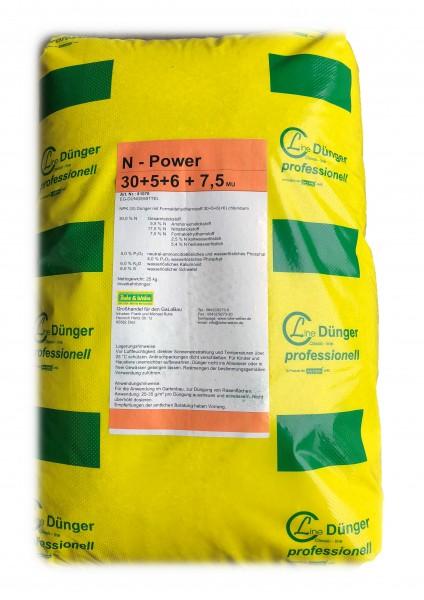 Rasendünger viel Stickstoff