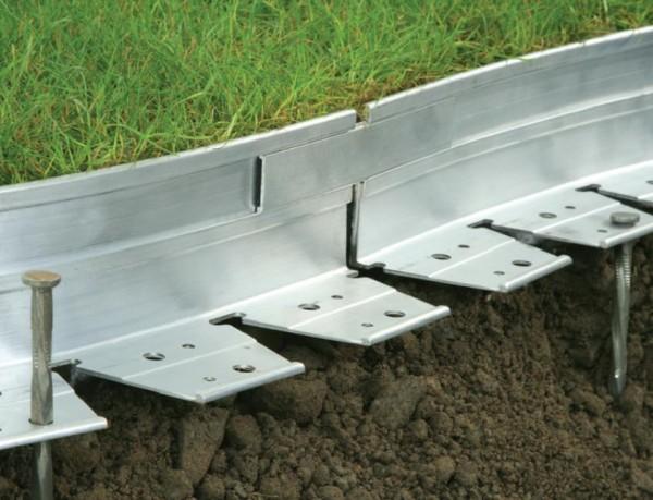 AluKante - Verbindungsstück 50-150mm aus Aluminium
