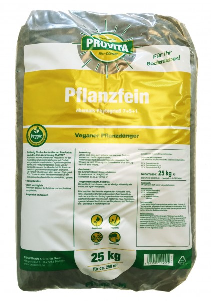 Pflanzfein Phytogrieß