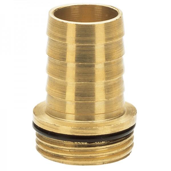 """Messing-Tüllen, 33,3 mm (G 1)-Gewinde / 25 mm(1"""")-Schläuche"""
