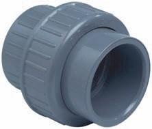 PVC Kupplung mit O-Ring