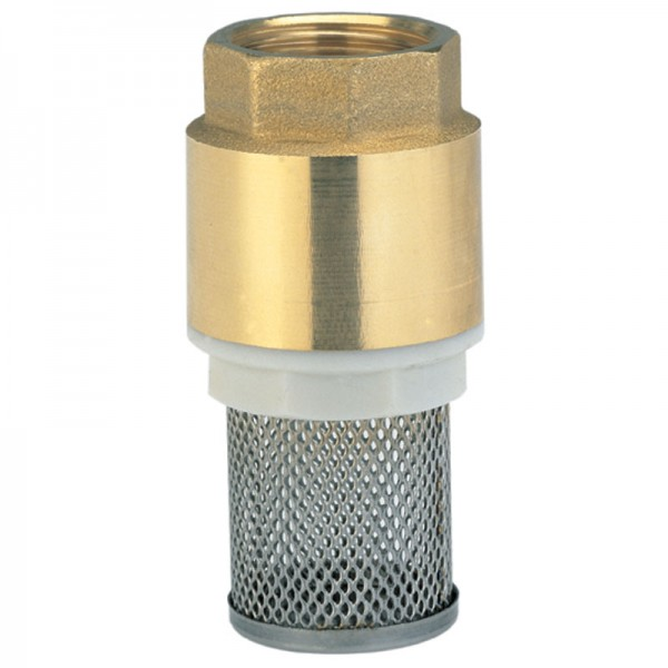 Messing-Fußventil, 42 mm (G 1 1/4)-Gewinde