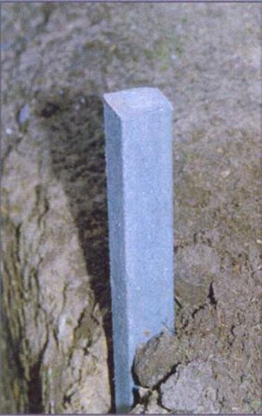 Kunststoffpfahl 45 cm