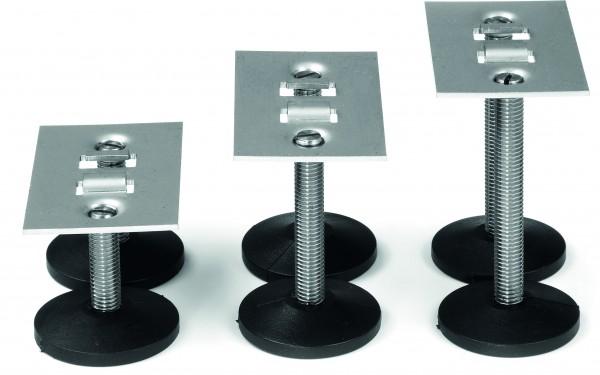 Höhenverstellung 100-130 mm, Baubreite 100 mm